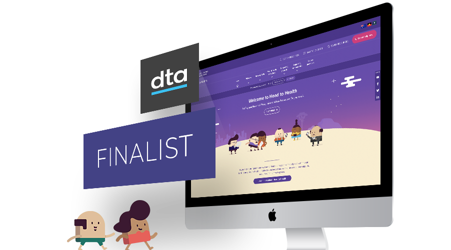 Head to Health announced as finalist in DTA Awards
