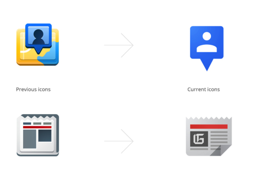 Google Rebrand across their products