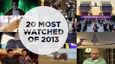 20 most watched videos of 2013