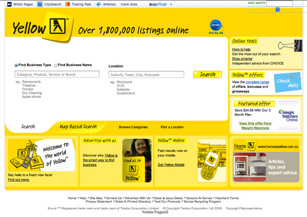 Yellowpages 2006