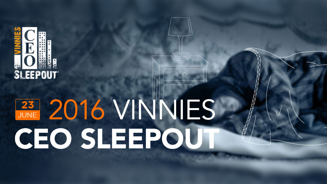 2016 Vinnies CEO sleepout