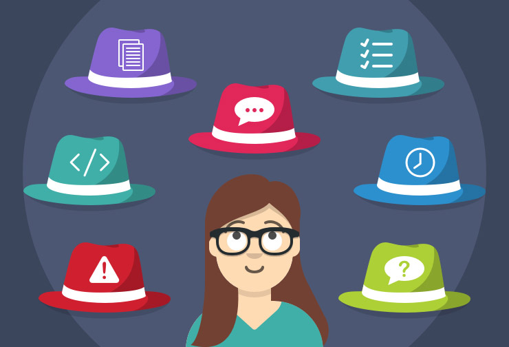 The multiple hats of a Project Manager