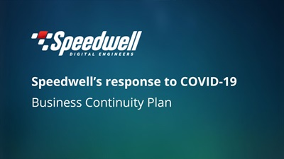 Speedwell's response to COVID-19