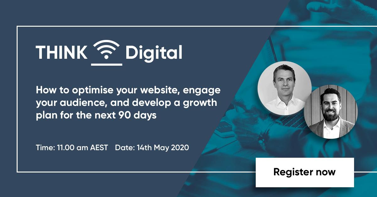Join our webinar to hear the latest insights, tactics and strategies on how to optimise your website, engage your audience, and develop a solid plan for growth over the next 90 days.