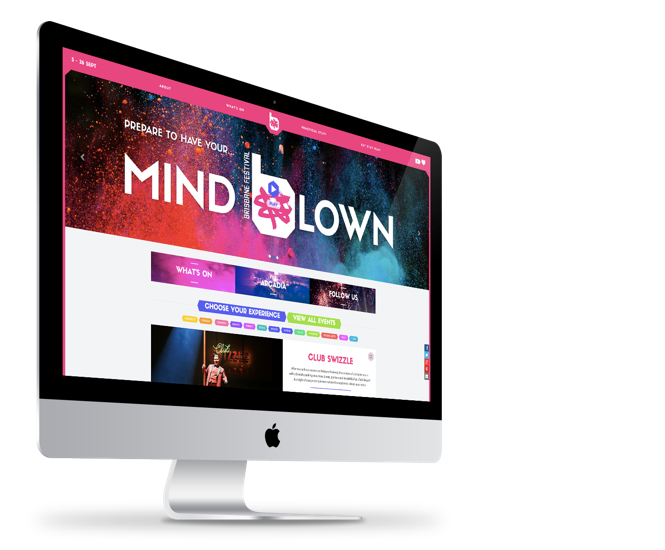 Brisbane Festival website