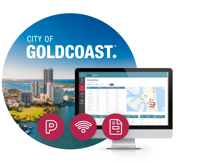 Dashboard for the City of Gold Coast council