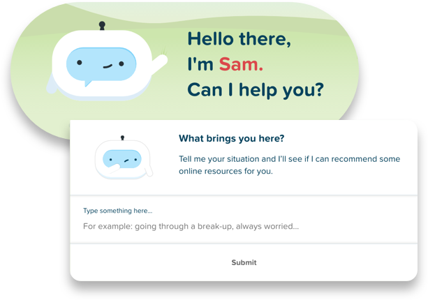 Sam the chatbot