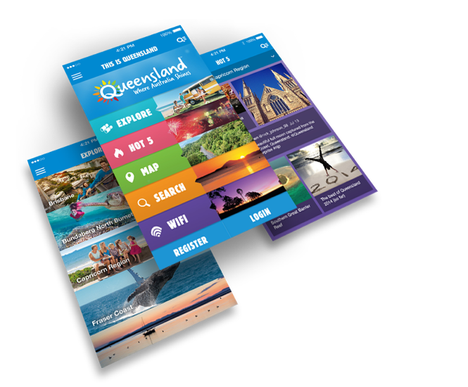 Tourism and Events Queensland App