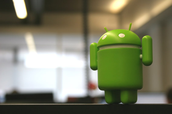 Android figurine